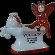 Vintage devil matchstriker