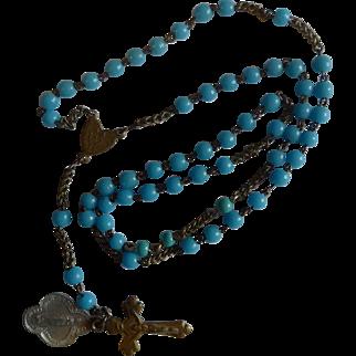 Beautiful antique children's rosary