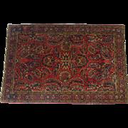 Sarouk Carpet - 1920/30s - 3′4″ × 5′1″