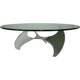 Propeller Coffee Table by Knut Hesterberg for Ronald Schmitt