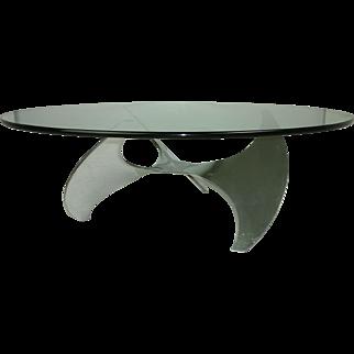 Propeller Coffee Table by Knut Hesterberg for Ronald Schmitt
