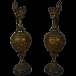 Bronze Ewers c.1900