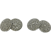 1930s Diamond Double Sided Cufflinks