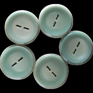 Large Vintage Casein Coat Buttons