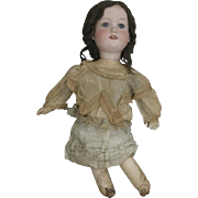 Antique Victorian Era bisque head Armand Marseille doll with open mouth and teeth showing