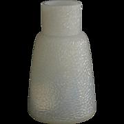 Antique Art Nouveau period Art glass iridescent vase