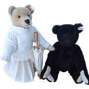 Steiff Limited Edition Pat & Nora Teddy Bears