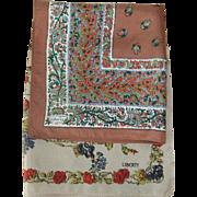 Pair of Vintage Liberty Silk Pocket Squares