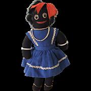 Delightful Vintage Golly Girl Doll, Circa 1950s