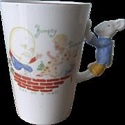 Charming Nursery Rhyme Mug with Mouse Handle