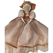 Gorgeous 1920s Boudoir Doll with All Original Clothes