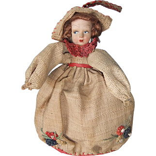 Adorable Fifties Doll Purse/Bag