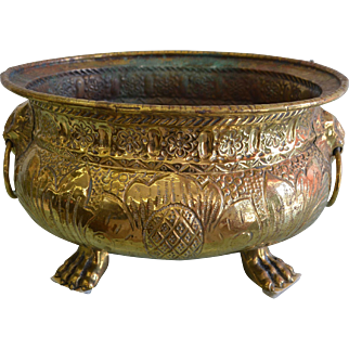 1800's Embossed Harvest Basket for Wine from Loire Valley, France