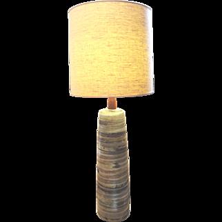 Wonderful, Large Scale, Mid-Century Gordon Martz Studio Ceramic Lamp