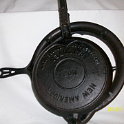 1900 Griswald Waffle Maker (never used) appraised at $1,200.