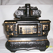 McCoy cookstove black cookie jar