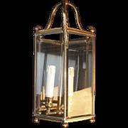 Beautiful French Quality Bronze Brass Foyer lantern