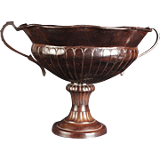 A Lovely And Huge Bronze Fruit Bowl or Planter ,,,Lovely Dark Bronze Color