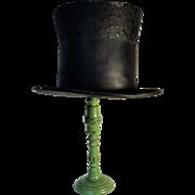 19th C. Tin Anniversary Gentleman's Stovepipe Hat