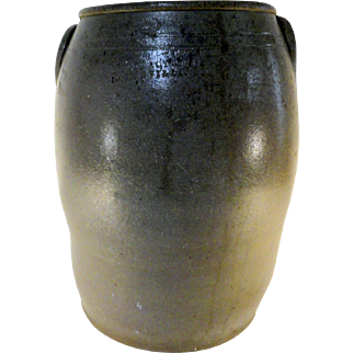 Rare A. Melcher & Co. / Manufacturers / Louisville, KY Stoneware Crock