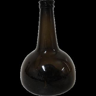 18th C. Dutch Onion Bottle