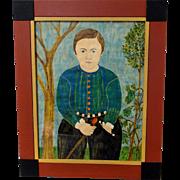 Vintage Garnett French Boy Portrait in the Manner of Shute