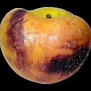 Rare Large Bruised Peach Stone Fruit