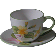 Shelley Miniature Primrose Cup and Saucer