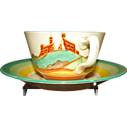 Clarice Cliff Secrets Teacup and Saucer
