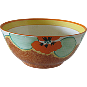Clarice Cliff Nasturtium Bowl from 1932 or 1933