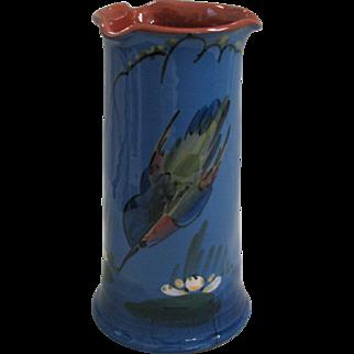 Longpark & Torquay Kingfisher Vase