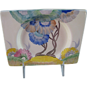 Clarice Cliff Aurea Plate in The Biarritz Shape