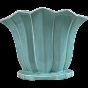 Vintage McCoy Turquoise Vase