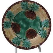 Griffen, Smith & Hill Etruscan Bamboo Majolica Plate