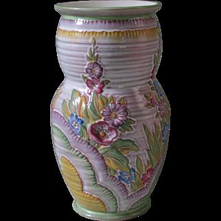 Crown Devon Deco-Style Vase