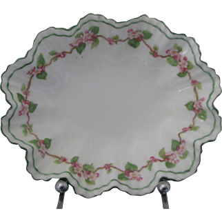Adderley's Apple Blossom Trinket Dish