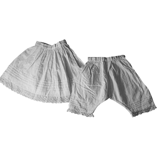 Antique Slip and Knickers Set
