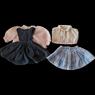 """Vintage Wardrobe Made for 18"""" Dolls"""