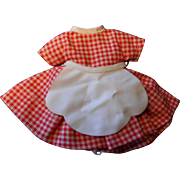 Betsy McCall Little Cook Outfit--1950's
