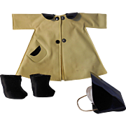 Betsy McCall Rainy Day outfit--1950's Vintage