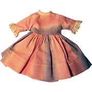 Betsy McCall Pink Ombre Dress--Vintage 1950's