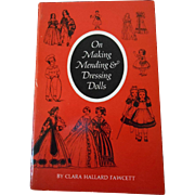 On Making Mending & Dressing Dolls--OOp Book