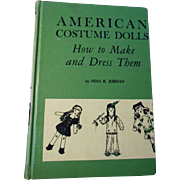 American Costume Dolls--OOP Book from 1941