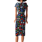 Barbie Apple Sheath Dress--1960