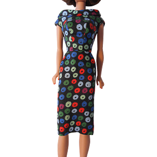 Barbie Apple Sheath Dress--1960