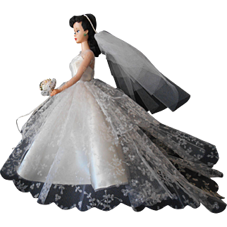 Barbie Wedding Day Set #972--1960