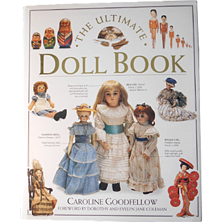 Ultimate Doll Book by Caroline Goodfellow--1993 first American Edition