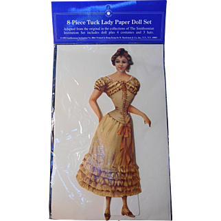 Victorian Tuck Lady Paper Doll--NRFP
