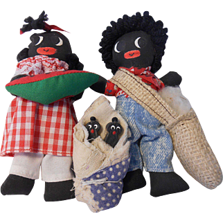 Little Golliwog Style Family by Sharon Black--1991
