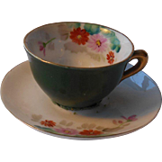 Doll Cup & Saucer--Occupied Japan